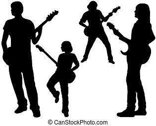 banda, canto