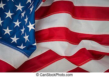 bandiera, americano