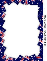 bandiera, australia, bordo