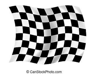 bandiera, checkered