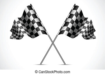 bandiera, corsa
