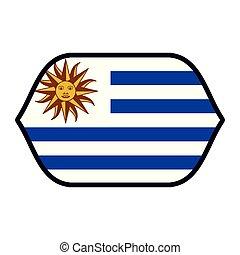 bandiera, emblema, uruguay