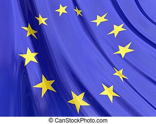 bandiera, europeo