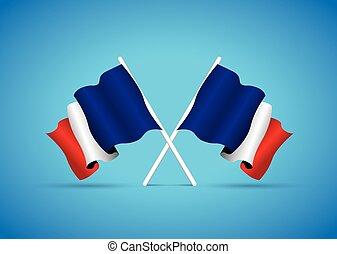 bandiera, francia