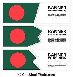 bandiera, indipendenza, bandiere, giorno, collezione, bangladesh