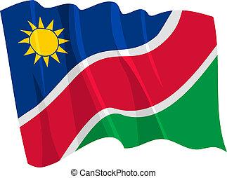 bandiera, namibia