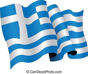 bandiera nazionale, grecia