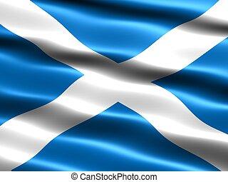 bandiera, scozia