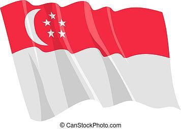 bandiera, singapore