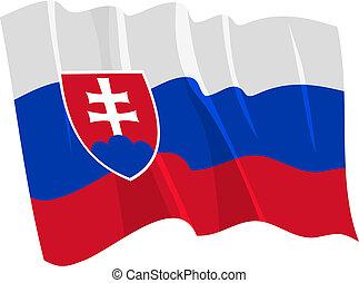 bandiera, slovacchia