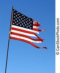 bandiera, stracciato