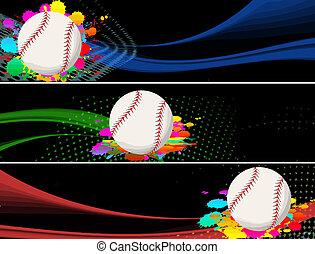 bandiere, baseball