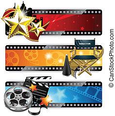 bandiere, cinema