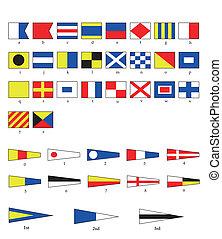 bandiere, nautico