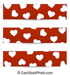 bandiere, seamless, valentina