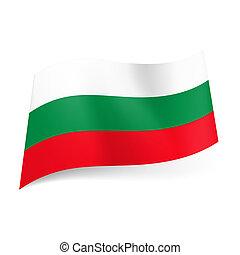bandierina condizione, bulgaria.