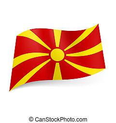 bandierina condizione, macedonia
