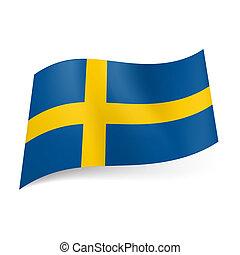 bandierina condizione, sweden.