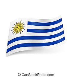 bandierina condizione, uruguay.