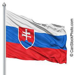 bandierina ondeggiamento, slovacchia