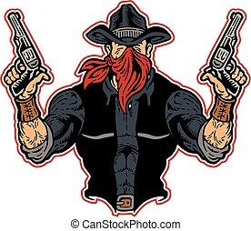 bandito, cowboy