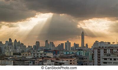 bangkok, vista