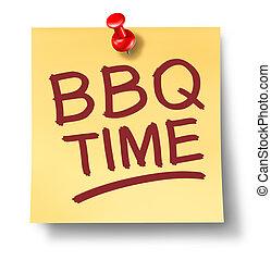 barbecue, segno