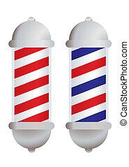 barbieri muniscono pali