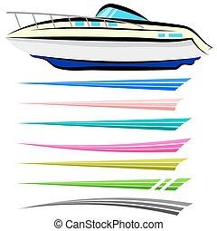 barca, grafica