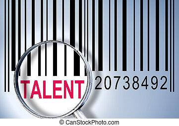 barcode, talento