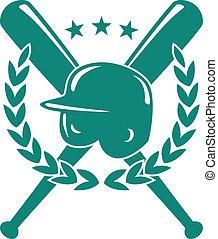 baseball, campionato, emblema