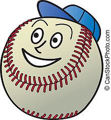 baseball, cartone animato