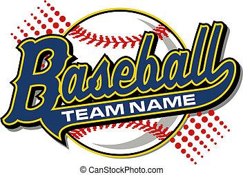 baseball, coda, disegno