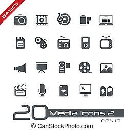 //, basi, multimedia, icone