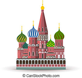 basilico, cattedrale, cremlino, st.