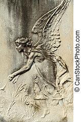 bassorilievo, angelico