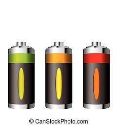 batteria, alimentazione verde