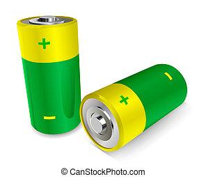 batterie, due