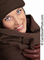 bella donna, moda, inverno