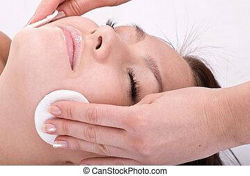 bella donna, spa., massage., facciale