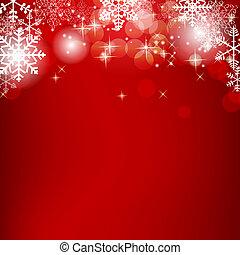 bellezza, astratto, illustrazione, fondo., vettore, anno, nuovo, natale