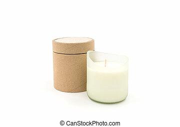 bello, candela, spa.