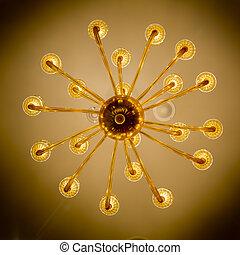 bello, decorazione, illuminazione