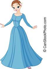 bello, fairytale, principessa