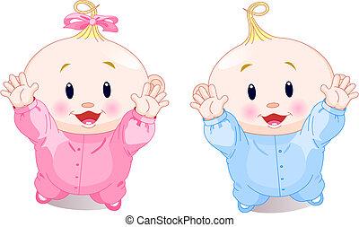 bello, gemelli