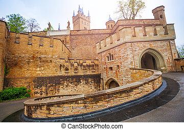 bello, hohenzollern, castello, iarda, interno
