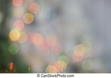 bello, multicolor, boke., fondo