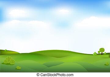 bello, paesaggio