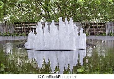 bello, parco fontana