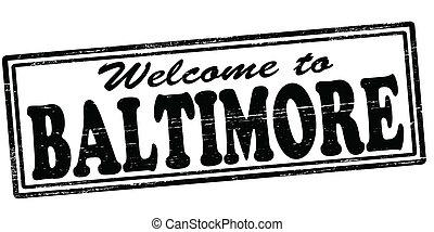 benvenuto, baltimora